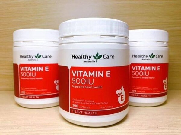 Healthy Care Vitamin E 500 IU
